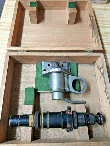 Bausch & Lomb Optical U.S. Navy Boresight Telescope w/ Box & Mount FREE SHIPPING