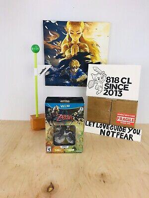Nintendo Wii U The Legend of Zelda: Twilight Princess HD + Wolf Link Amiibo NEW, usado comprar usado  Enviando para Brazil