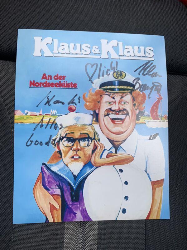 KLAUS & KLAUS signed Autogramm auf 20x25 cm Foto AN DER NORDSEEKÜSTE   SELTEN