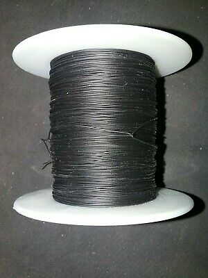 30 Awg Solid Kynar Wire Ul1423 Black 500 Ft Spool