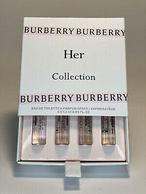 BURBERRY HER COLLECTION SAMPLE KIT SPRAY 0.04oz/1.2ml