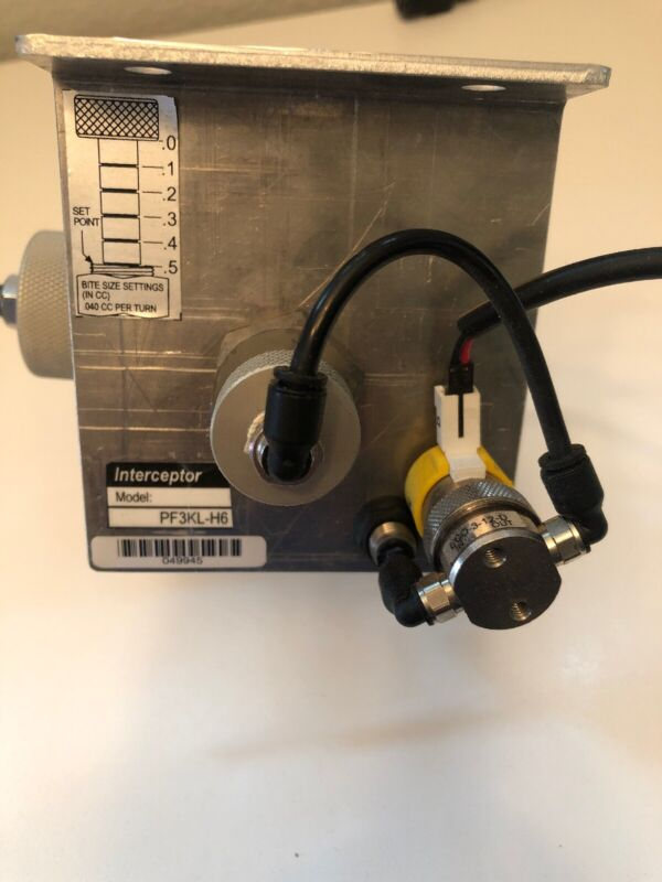 Parker Gas Sampling Interceptor PF3KL-H6