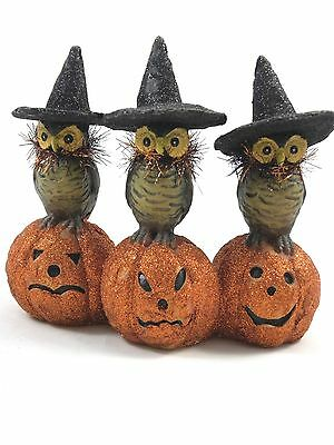 Owls have long been associated with Halloween