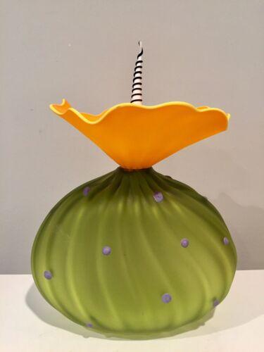 Kliszewski Studio Art Glass BobTanical Vessel Bob Laurie Kliss Of California - $349.00