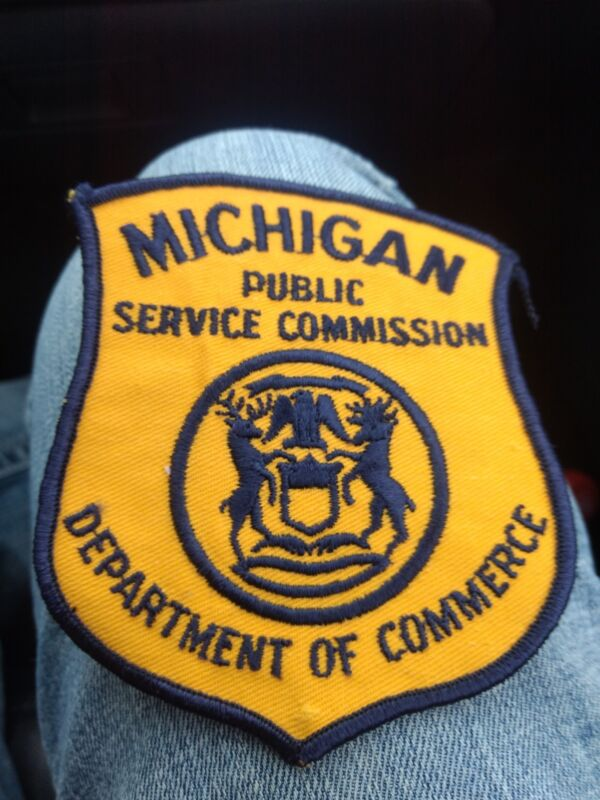 E Michigan patch Police State Public Service Commission Commerce Motor Carrier