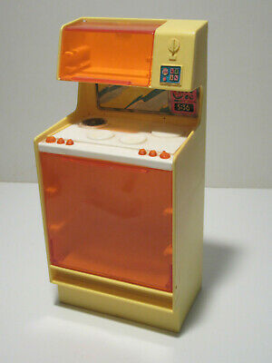 Vintage Barbie Dream House Electric Stove/Range & Microwave
