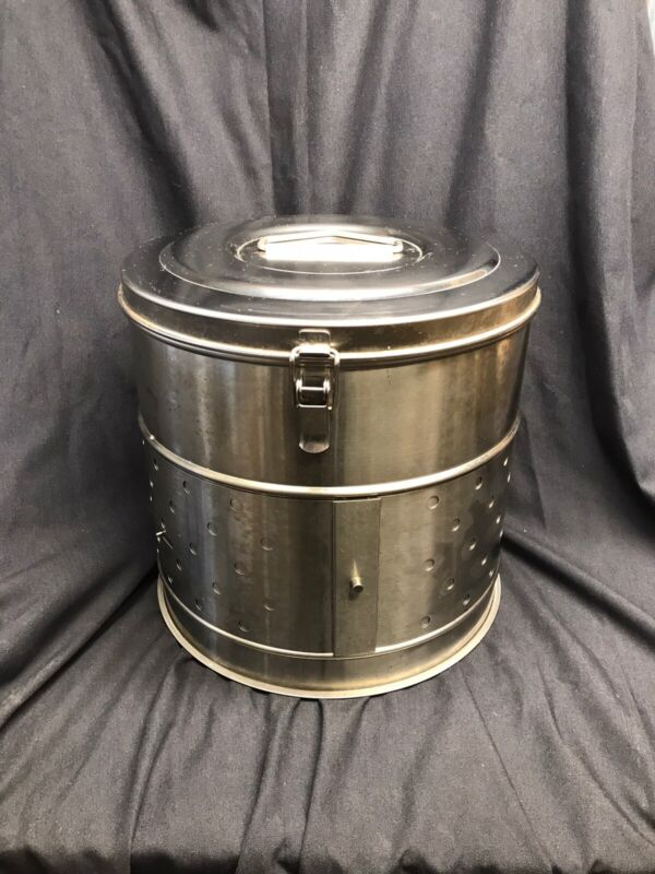 Boil Pot Lobster Crab Stockpot Stainless Steel Steamer, SIMPLEX SHEET WORKS NY
