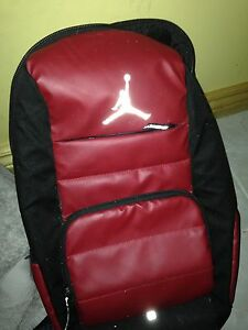 Red and black Jordan backpack