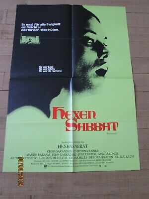 HEXEN SABBAT THE SENTINEL affiche cinéma format 59/83 pliée année 1977 TB état comprar usado  Enviando para Brazil