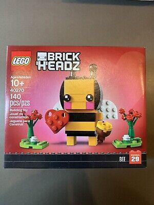 LEGO BrickHeadz 40270 Valentine's Day Bee Seasonal 29 New