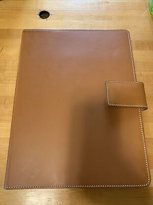 Leather Note Pad Portfolio- Made In Italy