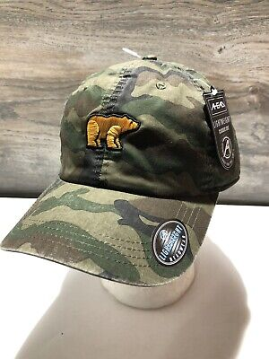 Ahead Jack Nicklaus The Golden Bear Authentic Lightweight Camo Golf Hat ~NWT~