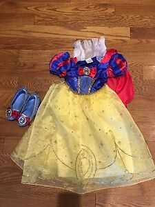 Disney Snow White costume with shoes