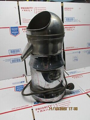 Sunkist Juicer Vintage Stainless Electric Commercial Works Art Deco N20