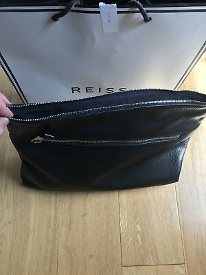 Mens Reiss Leather Document Holder - New