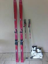 Kastle snow ski, poles and boots Beckenham Gosnells Area Preview
