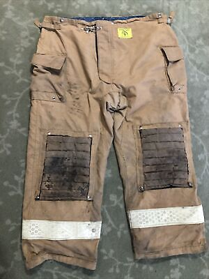 Morning Pride Fire Fighter Turnout Pants Size 54x 32 Bunker Gear 2006 W Liner