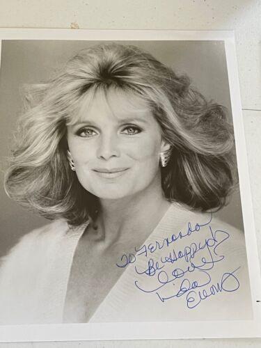 LINDA EVANS DYNASTY ORIGINAL HAND SIGNED AUTOGRAPH #1 PHOTO PHOTOGRAPH