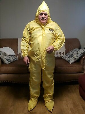 Lakeland Hooded Coverall Chemical Protection Suit Chemmax1