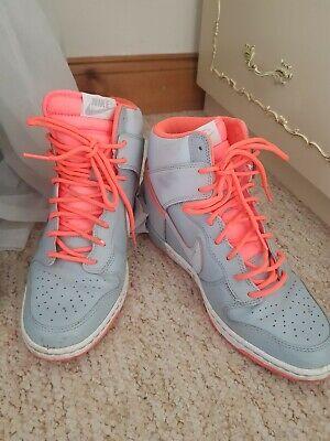 Nike sky hi wedge trainers