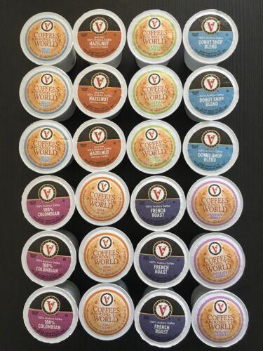 Victor Allen's K-Cups Brew Cups Pods Coffee Sampler Variety
