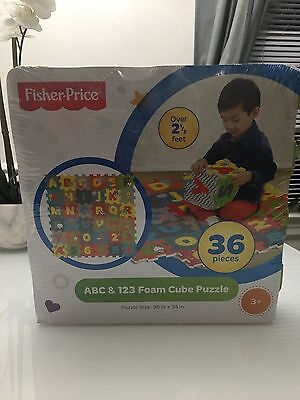 Baby foam play mat ( Fisher-Price abc & 123 Foam cube puzzle)