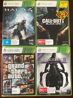 Wanted: Xbox 360 games