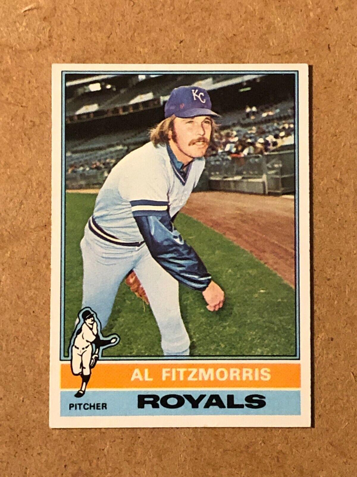1976 Topps Al Fitzmorris 144 EX - $1.74