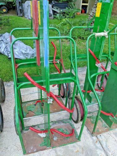 SUMNER Oxygen and Acetylene Cylinder Storage Welding Tank Cart