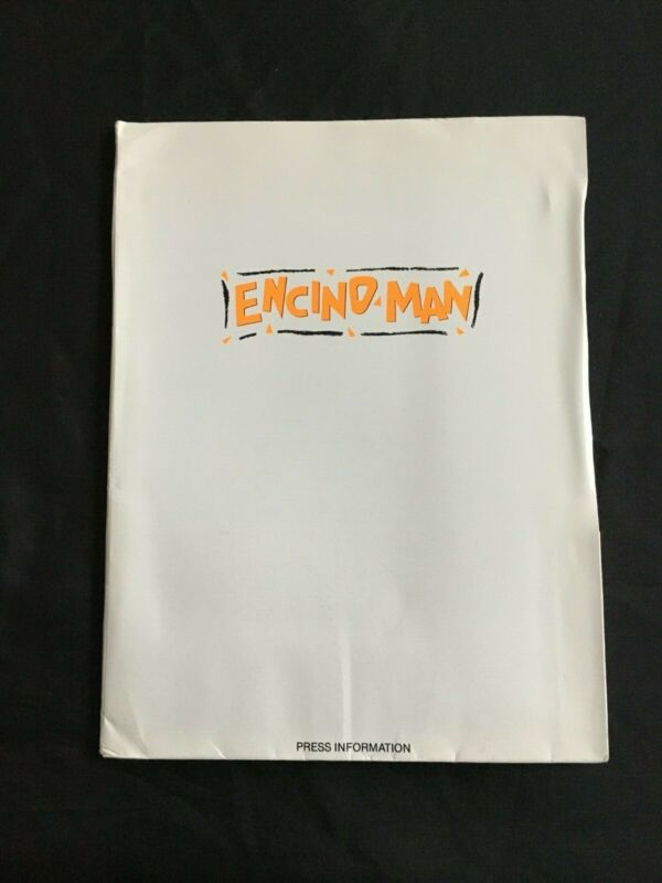 1992 ENCINO MAN Brendan Fraser Pauly Shore Comedy Movie Hollywood Press Kit