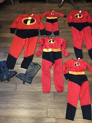 Incredible Costumes For Family (Incredibles Costumes for Family of Five)