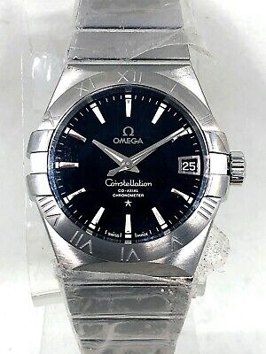 Omega 123.10.38.21.01.001 Constellation Men's Co-Axial 38MM Watch