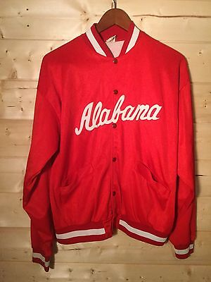Vtg 1970S Russell Alabama Crimson Tide Football Baseball Jacket