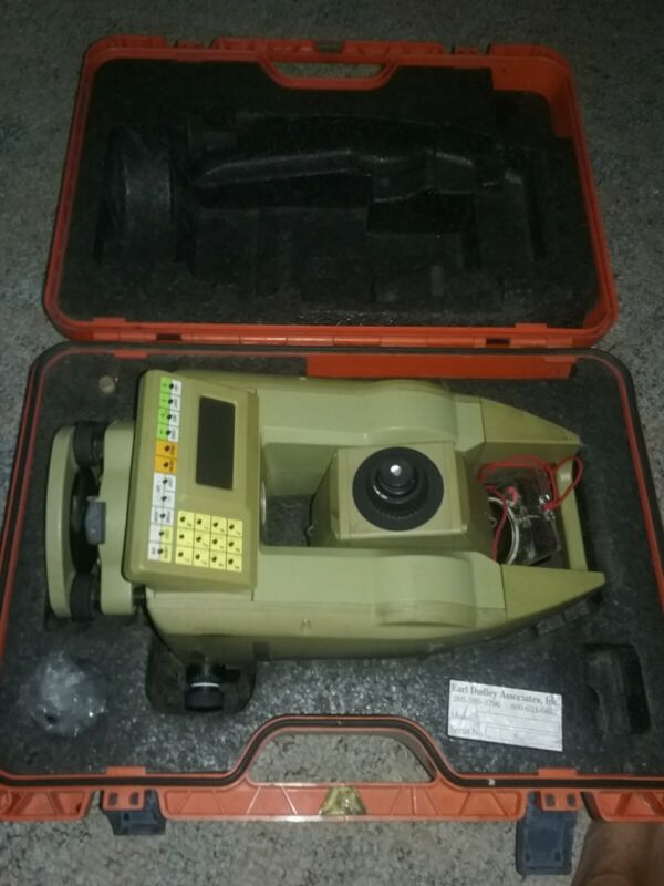Leica tc605 total station