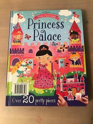 BOOK make your own princess palace by Igloo books birthday present arts+crafts