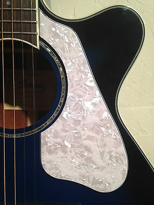 Kyпить AEG10ii Custom Pickguard 4-ply White Pearl for Ibanez Acoustic Guitar Project  на еВаy.соm