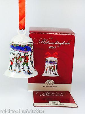 Hutschenreuther Weihnachtsglocke Porzellanglocke Glocke 2013 mit Verpackung NEU