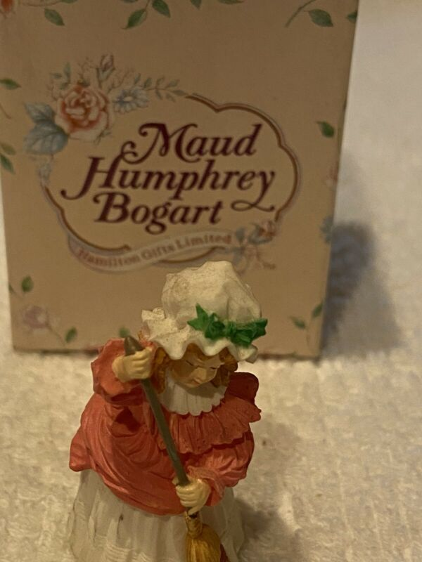 """HAMILTON GIFTS LMTD-MAUD HUMPHREY BOGART"" MINIATURE FIGURINE: CLEANING HOUSE"