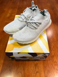 Adidas Ultra Boost Parley Limited Edition US12 UK11.5 White Blue