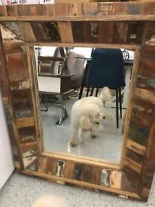 Rectangle Timber Framed Mirror