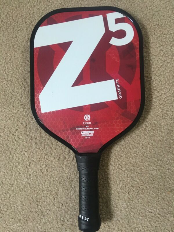New Onix Z5 Graphite Pickleball Paddle Nomex Core Widebody New 2019 Style Red
