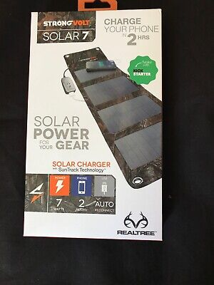 Strong Volt Solar Charger With Sun Track Technology