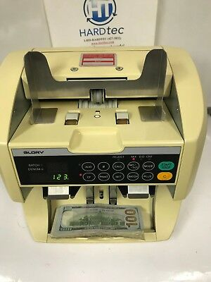Glory Gfr-s80 Currency Bill Counter Sorter Counterfeit Detection New 100 Bill