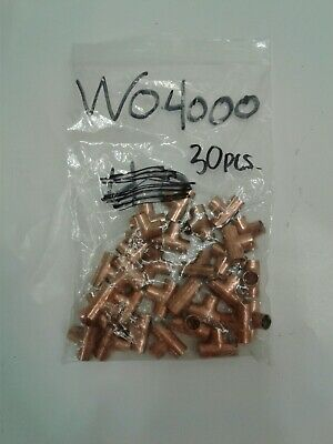 Mueller Industries Copper Tee Cxcxc 38 W04000 30 Pieces