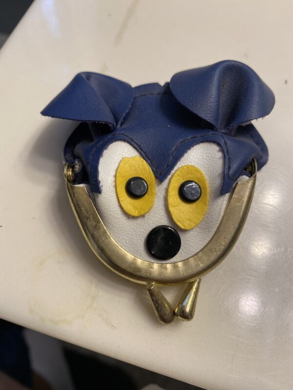 Vintage Walt Disney Mickey Mouse Coin Purse - New