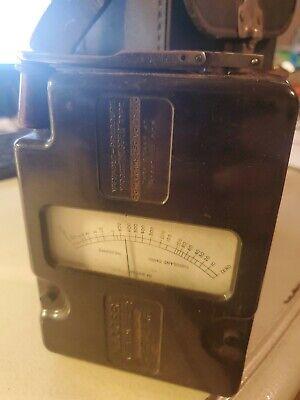 Vintage Biddle Megger Insulation Tester - Hand Crank