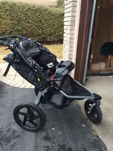 Bob Stroller with graco carseat attachment