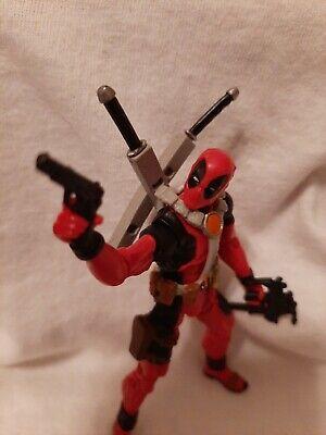 Marvel Universe 3.75 figure Deadpool Wolverine Origins loose FULLY LOADED!