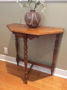 Antique Console Table - Spindle Legs - Tall - excellent cond.