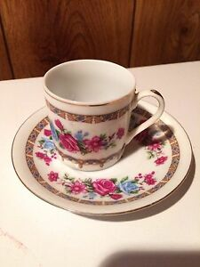 Espresso cup and Saucer